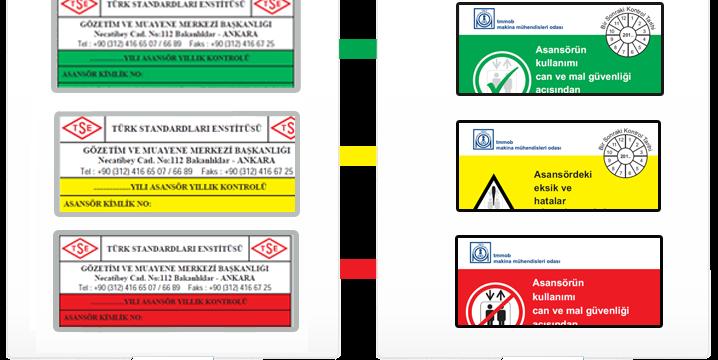 Kırmızı Etiket,Sarı Etiket,Yeşil Etiket Ne Anlama Gelmektedir ?